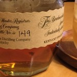 Blanton's bottle No.149